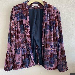 Urban outfitters velvet blazer
